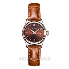 Coffee Dial, Brown Strap