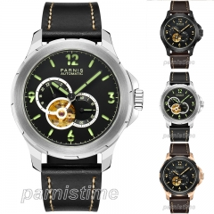 44mm Parnis Japan Automatic Movement Men's Mechanical Watch 10ATM Sapphire Glass