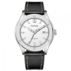 Stainless Case White Dial