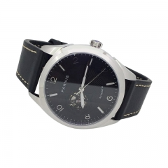 Stainless Case Black Dial
